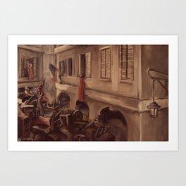 The Barricade Art Print