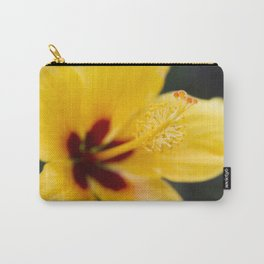 Boreas Tropical Hibiscus Lemon Drop Carry-All Pouch