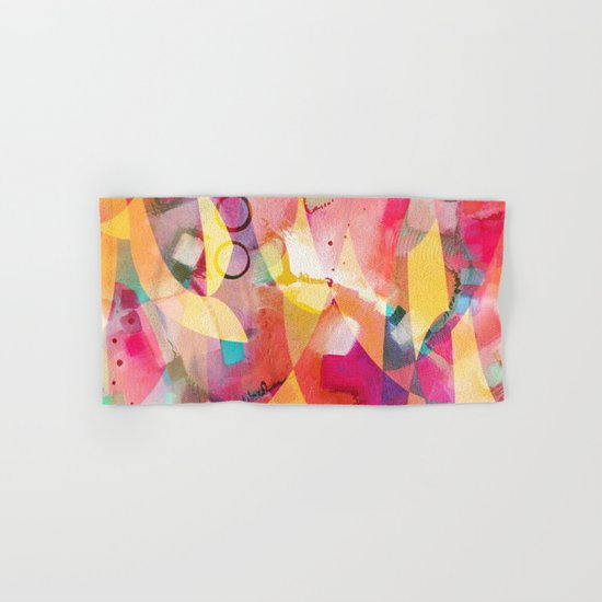 Sunrise Mess Hand & Bath Towel