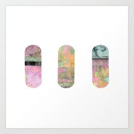 Pillz Art Print