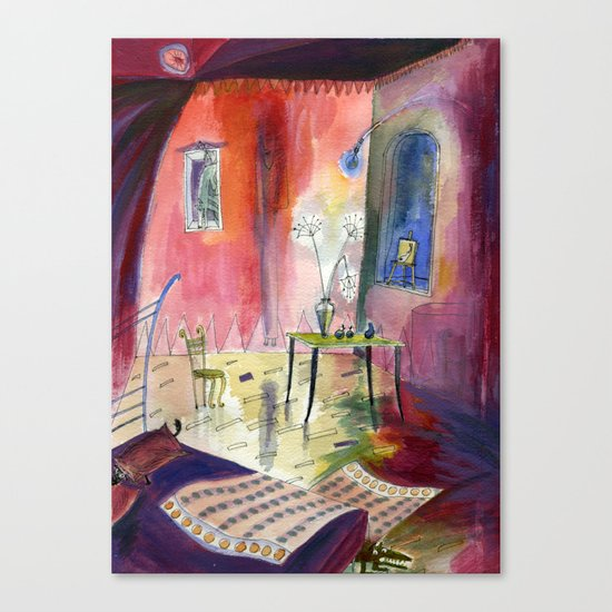 Room with Hidden Things Canvas Print