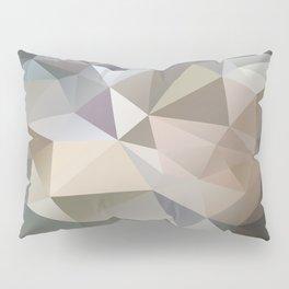 Polygon Geometric Digital Abstract Art Pillow Sham