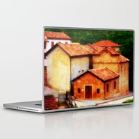 italian Laptop & iPad Skins featuring ✔️Italian Farmhouse by Tru Artwear