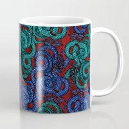 Thai Naga Red Coffee Mug