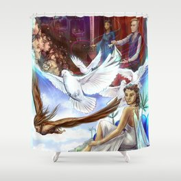 Micah's Vision Shower Curtain