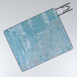 Vintage Galvanized Metal Picnic Blanket