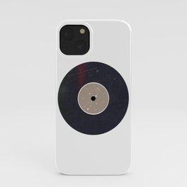 Vinyl Record Zodiac Sign Virgo iPhone Case