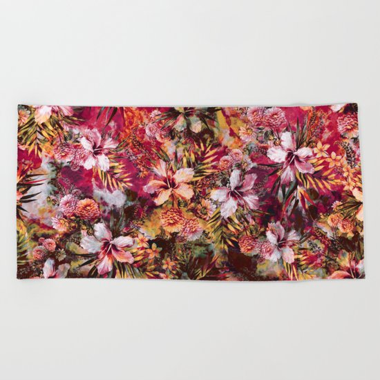 Tropical Heaven III Beach Towel