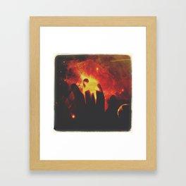 Cosmic Mother Framed Art Print