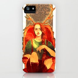 Jehan2 iPhone Case