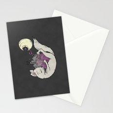 Bright Lights Kitty Nights Stationery Cards