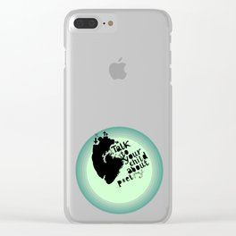 Talk to your child about Clear iPhone Case