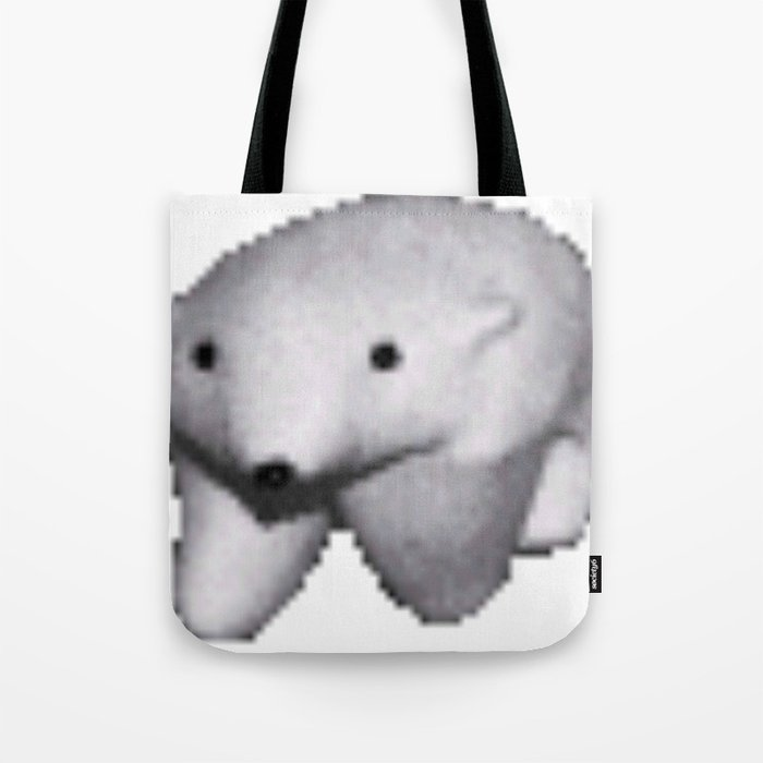 Polar Bear Meme Tote Bag By Stertube Society6