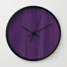 Purple Pantone Palette Wall Clock