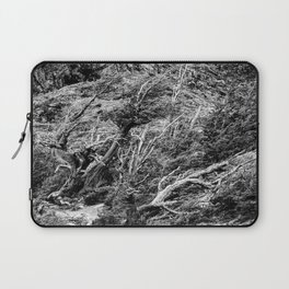 Windswept Woodland Mono Laptop Sleeve
