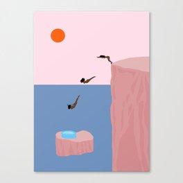 Dive//Survive Canvas Print
