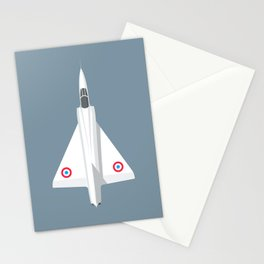Mirage III Fighter Jet - Slate Stationery Cards