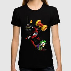 Harley Quinn SMALL Womens Fitted Tee Black