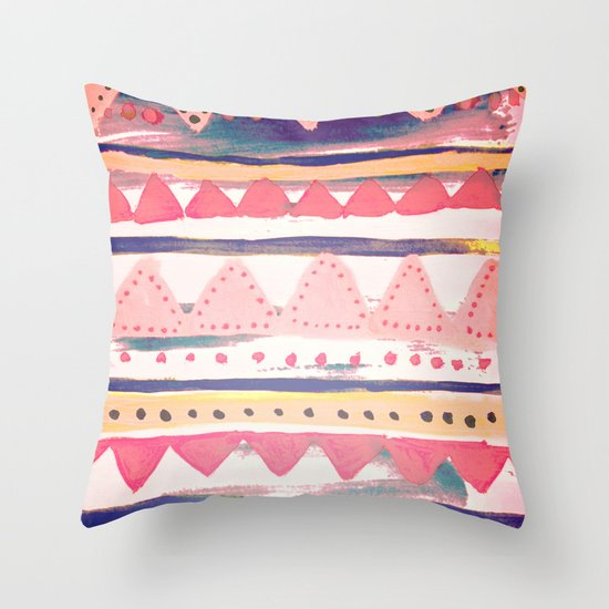 The Bohemian Throw Pillow