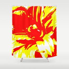 Fireflower Shower Curtain