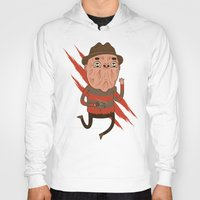 freddy krueger Hoodies featuring Freddy by Daniel Mackey