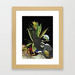 Pot in the Subconscious Framed Art Print