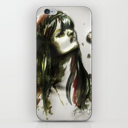 Bat for lashes iPhone Skin