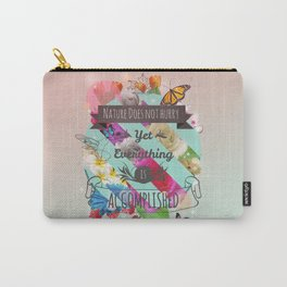 Nature Lao Tzu quote Carry-All Pouch