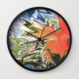 Straight From The Heart Wall Clock