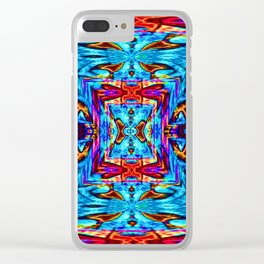 Pattern-285 Clear iPhone Case