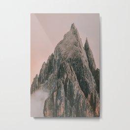 Mono Peak Extreme Metal Print