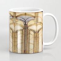 palms Mugs featuring Palms by Steve W Schwartz Art