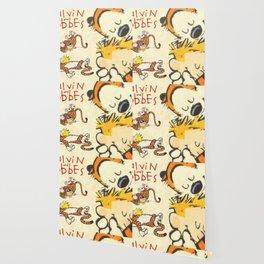 Calvin and Hobbes forever Wallpaper