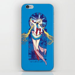 By Moonlight - Sailor Moon nouveau iPhone Skin