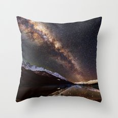 In love with Space Throw Pillow