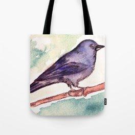 Pinzon azul Tote Bag