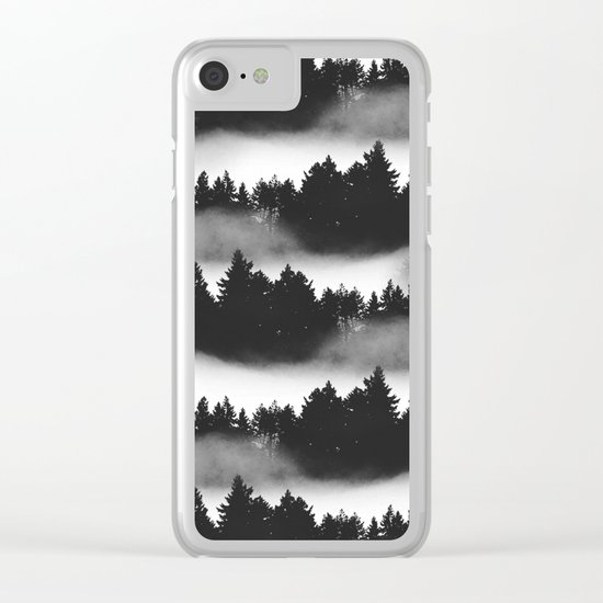 Don't Get Lost in Mist Clear iPhone Case