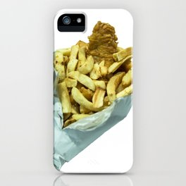 Fish n Chippies iPhone Case