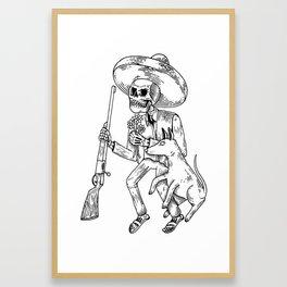 A. Revolution BW Framed Art Print