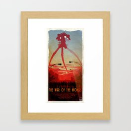 Movie Poster Inspired : The War of the Worlds Framed Art Print