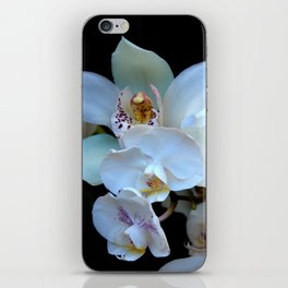 A White Orchid Wedding iPhone Skin