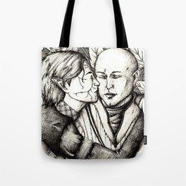 Elves and elfroot Tote Bag