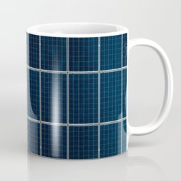 Solar Panel Pattern (Color) Coffee Mug