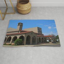 Lourdes University-  Franciscan Center in the Spring VI Rug