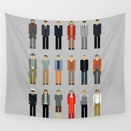 Leo's many characters Wall Tapestry