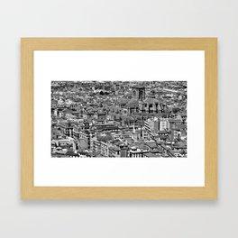 Cityscape - Granada Framed Art Print