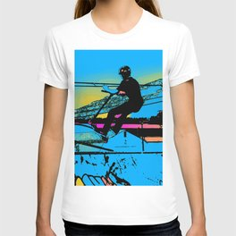 Off the Ramp - Stunt Scooter Rider T-shirt
