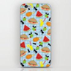 Funny Picnic Food iPhone & iPod Skin