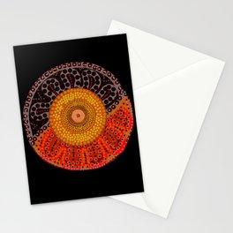 Australian Aboriginal Sun Stationery Cards