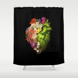 Healing Heart Shower Curtain